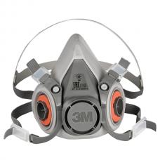 Полумаска 3М™ 6000 (6200 М-средний размер)