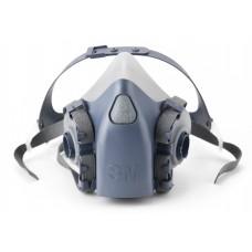 Полумаска 3М™ серии 7500 (7501 S-малый размер)