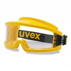 Очки защитные закрытые UVEX Ультравижн 9301.613 с огнестойким обтюратором