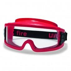 Очки защитные закрытые UVEX Ультравижн 9301.633 с огнестойким обтюратором