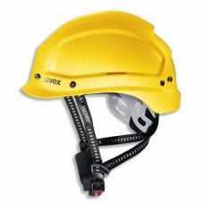 9773.150 Каска защитная UVEX Феос Алпайн, с храповиком, желтая