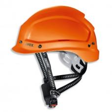 9773.250 Каска защитная UVEX Феос Алпайн, с храповиком, оранжевая