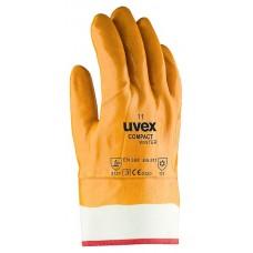 Перчатки защитные UVEX Компакт Винтер с полным нитриловым покрытием