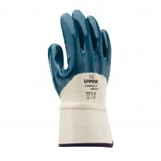 Перчатки защитные UVEX Компакт NB27E с частичным нитриловым покрытием крага
