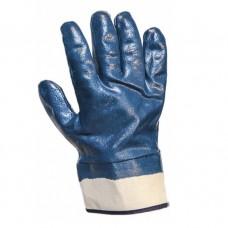 Перчатки защитные с полным нитриловым покрытием